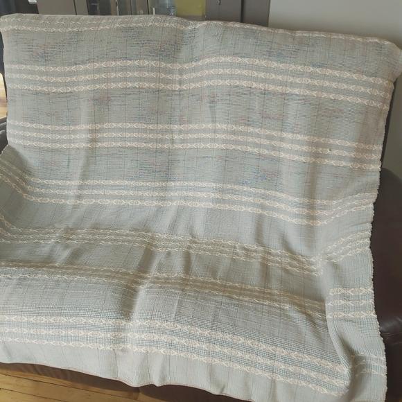 Hand Woven blanket handmade Catalogne